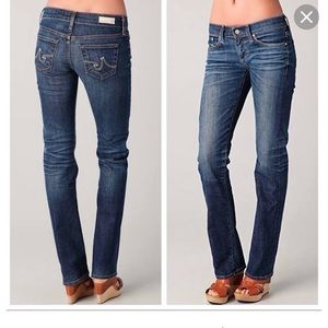 AG bootcut jeans